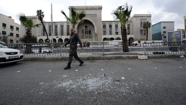 Nổ trong Cung Công lý ở Damascus - Sputnik Việt Nam