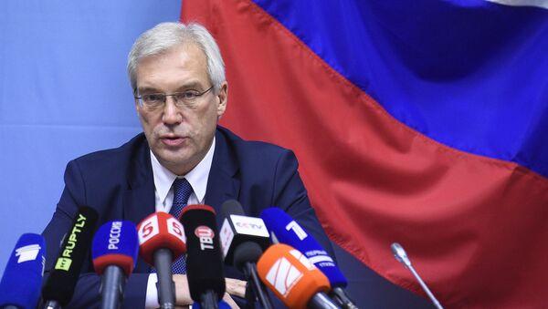 ông Alexander Grushko, đại diện thường trực của Nga tại NATO - Sputnik Việt Nam