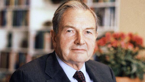 David Rockefeller - Sputnik Việt Nam