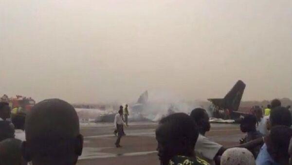 Máy bay rơi ở phi trường Nam Sudan, có nạn nhân - Sputnik Việt Nam