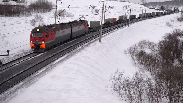 Tuyến đường sắt Tây Siberia. Kỷ niệm 100 năm tuyến đường sắt xuyên Siberia - Sputnik Việt Nam
