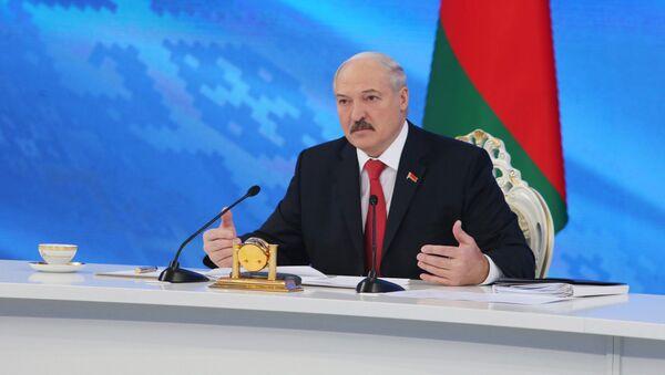 Tổng thống Belarus Alexandr Lukashenko - Sputnik Việt Nam