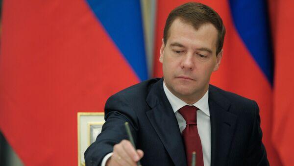 Thủ tướng Nga Medvedev - Sputnik Việt Nam