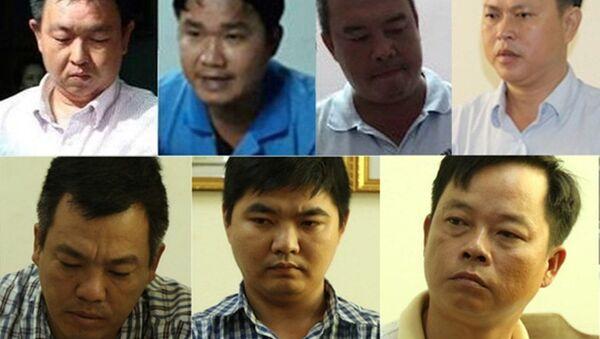3/7 thanh tra giao thông TP Cần Thơ đối diện án tử hình - Sputnik Việt Nam