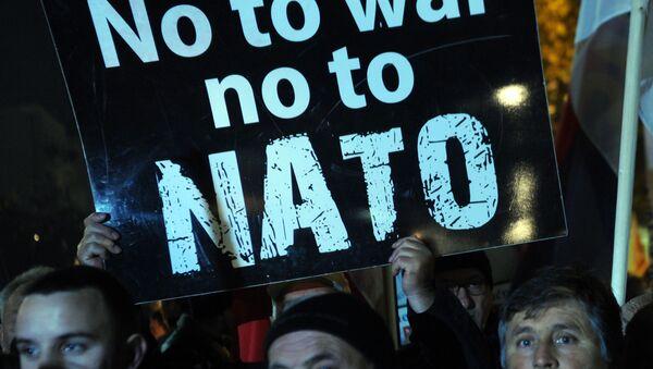 Biểu tình phản đối ở Montenegro - Sputnik Việt Nam