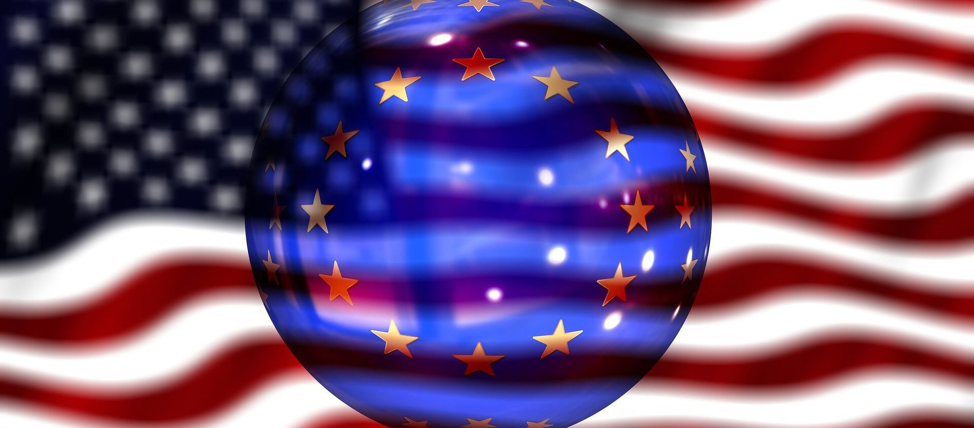 quan hệ Mỹ-EU - Sputnik Việt Nam, 1920, 18.05.2021