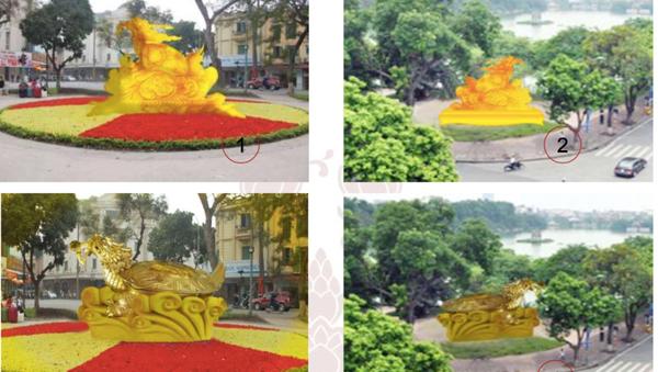 Những vị trí dự kiến đặt tượng rùa vàng tại hồ Hoàn Kiếm, Hà Nội - Sputnik Việt Nam