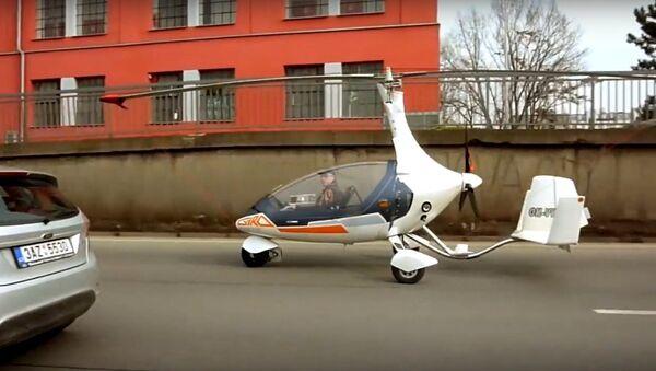 Lái ô-tô bay - Sputnik Việt Nam