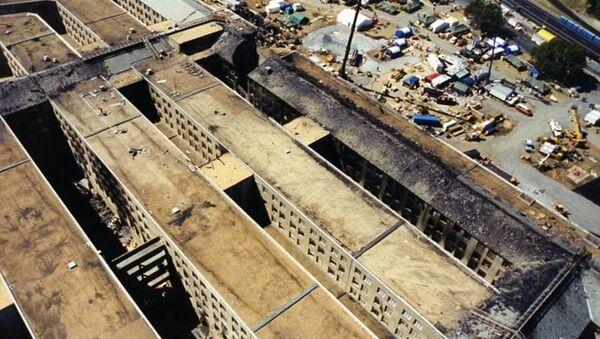 Tiết lộ ảnh Lầu Năm Góc tan hoang sau vụ 11/9 - Sputnik Việt Nam