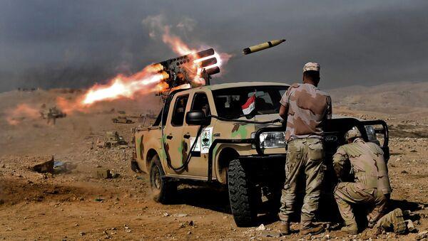 quân đội Iraq gần Mosul - Sputnik Việt Nam