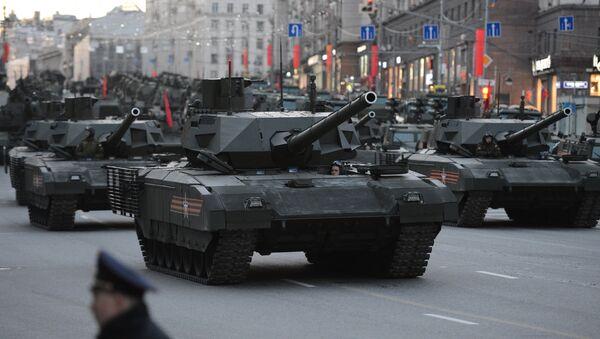 "Xe tăng ""Armata"" - Sputnik Việt Nam"