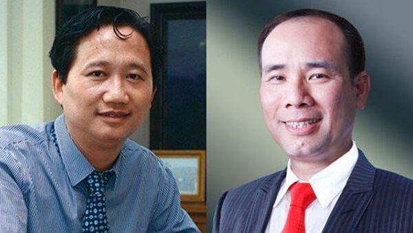 Trịnh Xuân Thanh và Vũ Đức Thuận - 2 trong số hàng loạt cựu sếp PVC bị khởi tố. - Sputnik Việt Nam