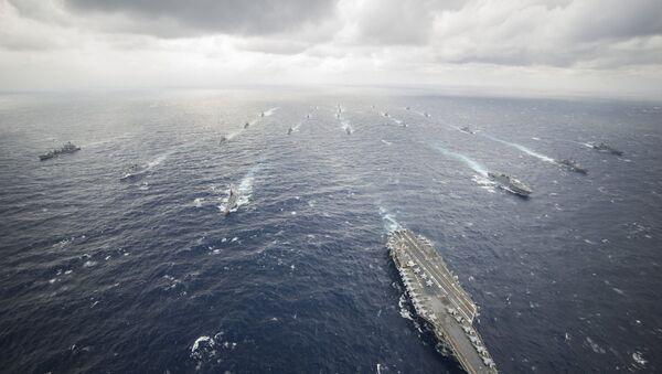 Cụm tác chiến tàu sân bay Mỹ luôn thường trực tại khu vực châu Á-Thái Bình Dương - Sputnik Việt Nam