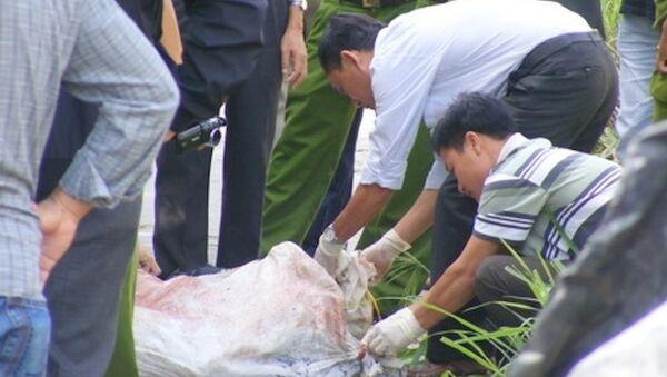 Xác người trong bao tải - Sputnik Việt Nam