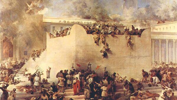 Quân La Mã hủy diệt Jerusalem sau chiến dịch vây hãm. - Sputnik Việt Nam