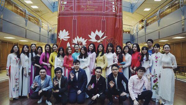 Ngày 5 tháng 4, tại Học viện Quan hệ Quốc tế Matxcơva (MGIMO) đã tổ chức Ngày Việt Nam. - Sputnik Việt Nam