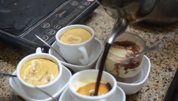 Cà phê trứng, thức uống mà báo quốc tế giới thiệu khi nói về ẩm thực Hà thành - Sputnik Việt Nam
