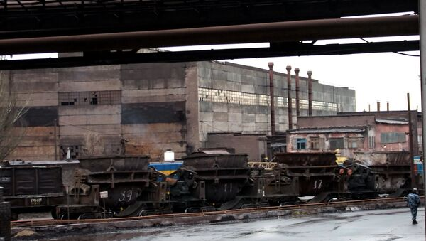 Енакиевский металлургический завод остановил свою работу в Донецкой области - Sputnik Việt Nam