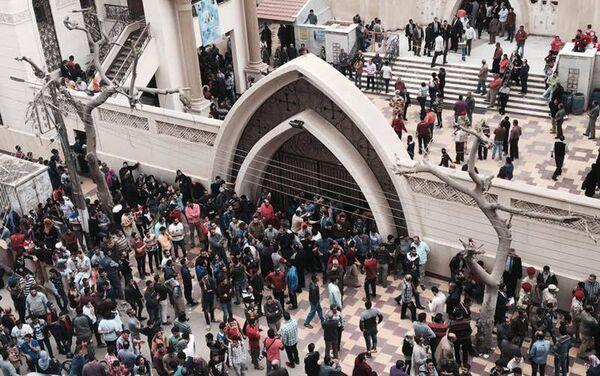 Hai nhà thờ ở Ai Cập bị đánh bom - Sputnik Việt Nam