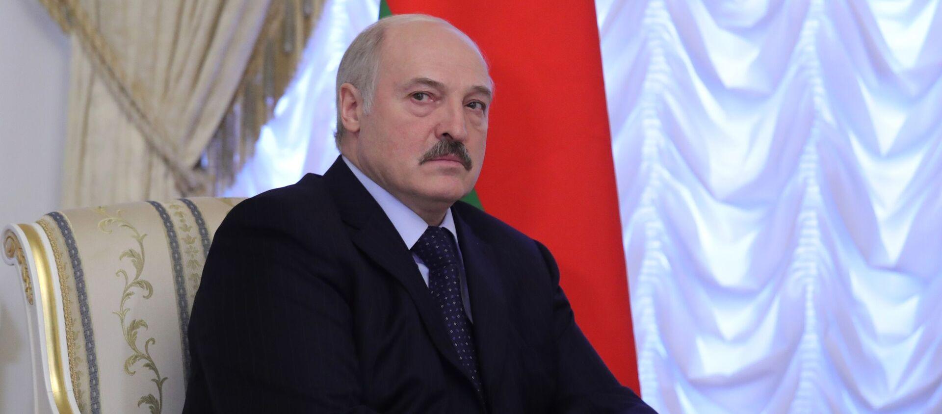 Tổng thống Belarus Alexandr Lukashenko  - Sputnik Việt Nam, 1920, 09.08.2021