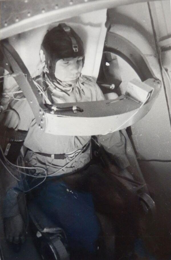 Yuri Gagarin luyện tập cho chuyến bay không gian - Sputnik Việt Nam