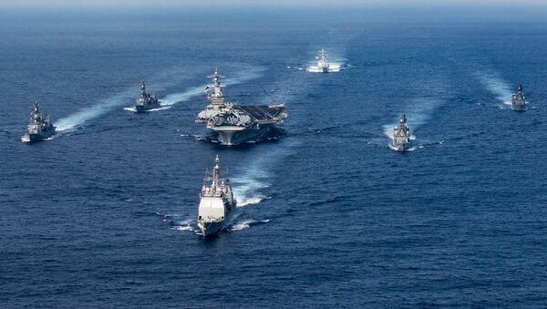 Tàu sân bay USS Carl Vinson - Sputnik Việt Nam