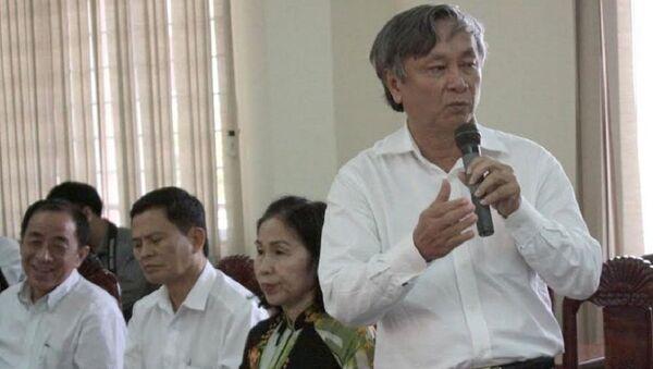 Ông Lê Thanh Liêm – nguyên Giám đốc Sở Y tế Long An - Sputnik Việt Nam