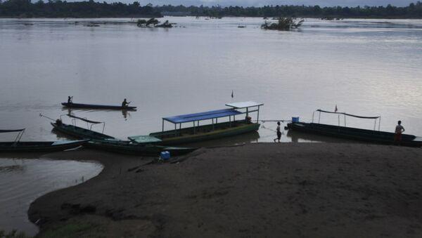 biên giới giữa Lào và Campuchia - Sputnik Việt Nam