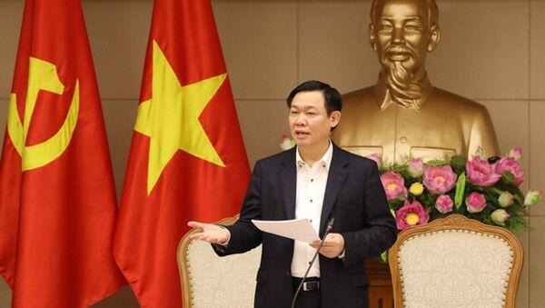 Phó Thủ tướng Vương Đình Huệ chủ trì cuộc họp lần đầu của Ban Chỉ đạo Nhà nước về đổi mới cơ chế hoạt động của các đơn vị sự nghiệp công lập - Sputnik Việt Nam