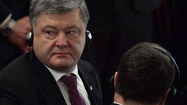 Tổng thống Poroshenko - Sputnik Việt Nam