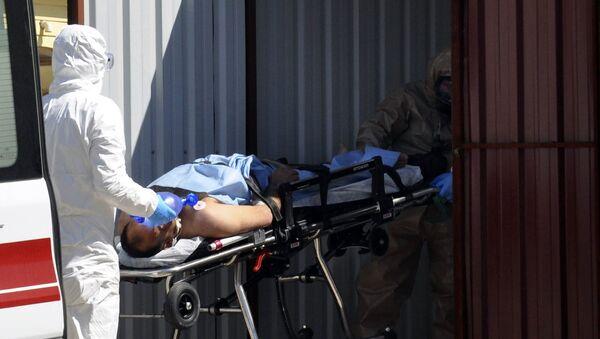 tấn công hóa học ở Syria - Sputnik Việt Nam