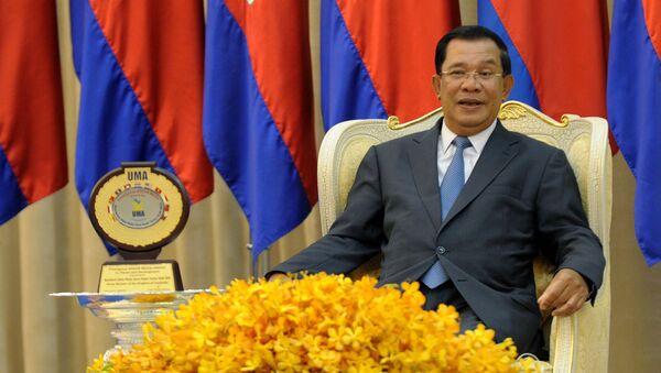 Ông Hun Sen - Sputnik Việt Nam