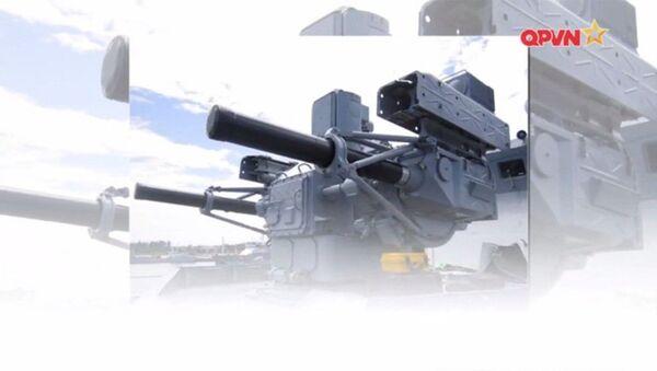 Module tác chiến của hệ thống Palma lắp trên tàu hộ vệ tên lửa Gepard 3.9 của Việt Nam. - Sputnik Việt Nam