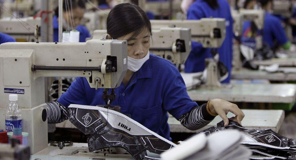 Nhà máy Thuong Dinh Shoe tại Hà Nội