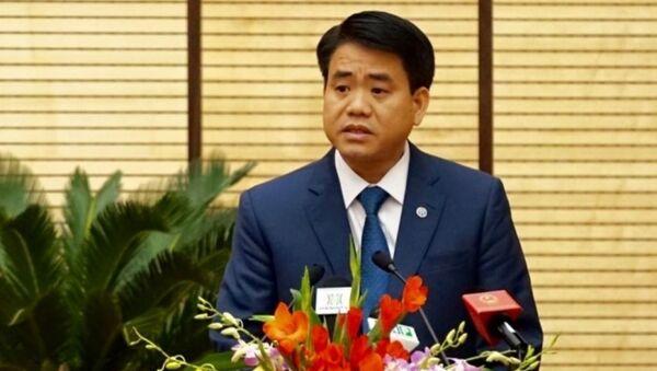 Ông Nguyễn Đức Chung - Chủ tịch UBND TP Hà Nội - Sputnik Việt Nam