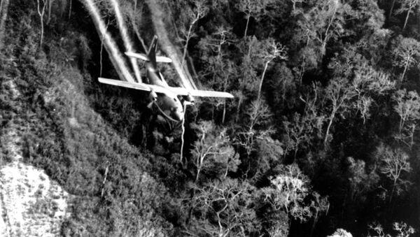 Chiến tranh Việt Nam năm 1966. Quân đội Mỹ sử dụng chất độc da cam  - Sputnik Việt Nam