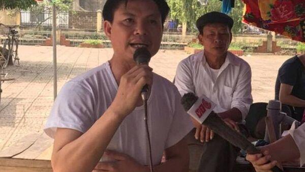 Ông Đặng Văn Cảnh phát biểu - Sputnik Việt Nam