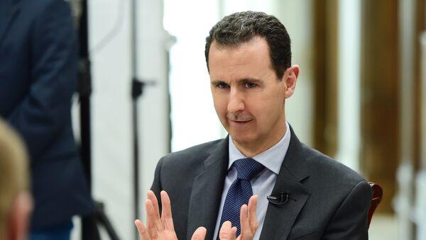 Tổng thống Syria Bashar Assad - Sputnik Việt Nam