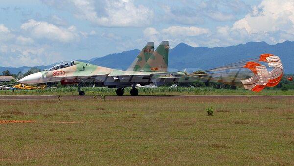 Chiến đấu cơ phản lực Su-30MK2 của Không quân Việt Nam - Sputnik Việt Nam