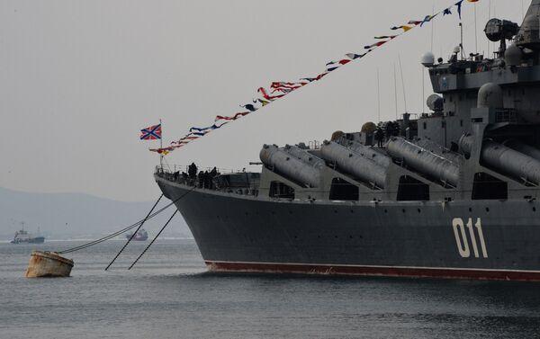 Tàu tuần dương tên lửa «Varyag»  - Sputnik Việt Nam