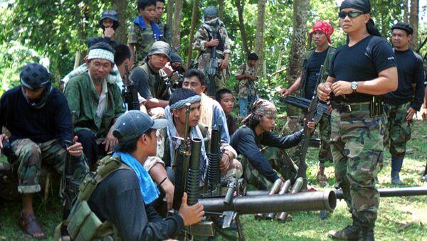 nhóm khủng bố  Abu Sayyaf - Sputnik Việt Nam