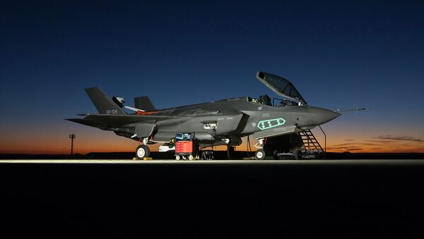 F-35A Lightning II fighter aircraft - Sputnik Việt Nam