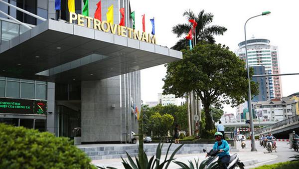 Tòa nhà dầu khí nằm tại vị trí khá đắc địa, gần trục đường Láng Hạ, Thái Hà (Hà Nội). - Sputnik Việt Nam