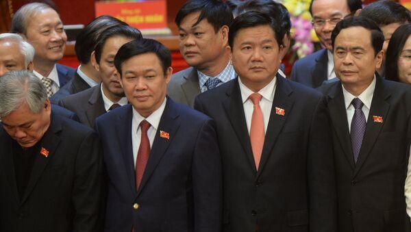 Ông Đinh La Thăng, Ủy viên Bộ Chính trị, Bí thư Thành ủy TP.HCM. - Sputnik Việt Nam