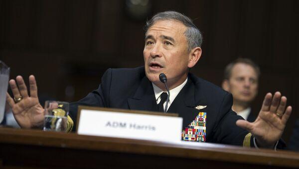 Đô đốc Harry Harris Tư lệnh Hạm đội Thái Bình Dương - Sputnik Việt Nam