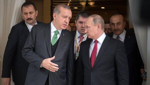 Vladimir Putin và Recep Tayyip Erdogan - Sputnik Việt Nam