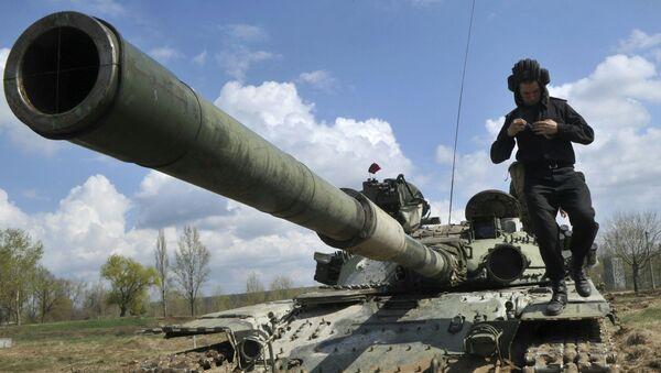 xe tăng quân đội Ukraina - Sputnik Việt Nam