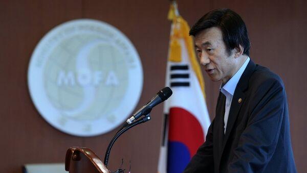 Bộ trưởng Ngoại giao Hàn Quốc Yun Byung Se - Sputnik Việt Nam