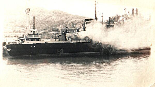 Tàu thủy Grisha Hakopyan. Năm 1972 - Sputnik Việt Nam