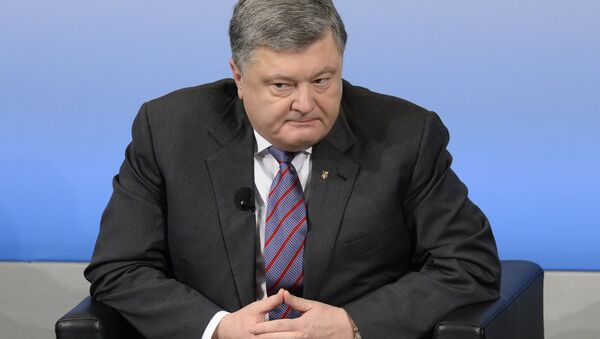 Президент Украины Петр Порошенко - Sputnik Việt Nam